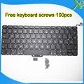 """Brand New SP Español teclado 100 unids tornillos del teclado Para MacBook Pro 13.3 """"A1278 2008-2012 Años"""
