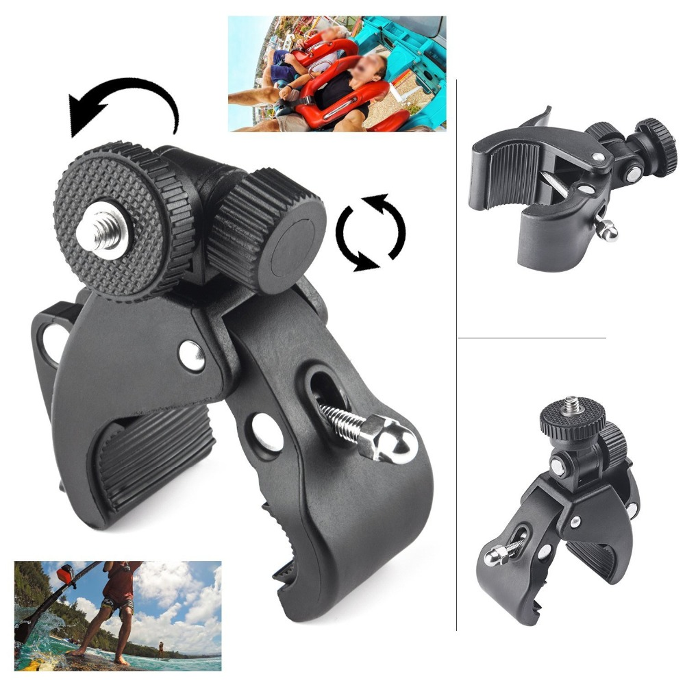 Bicycle Handlebar Handle Clamp Camera Mount For Sony Action Cam HDR AS20 AS50 AS100V AS30V AZ1 AS200V AS300R FDR-X1000V X3000R