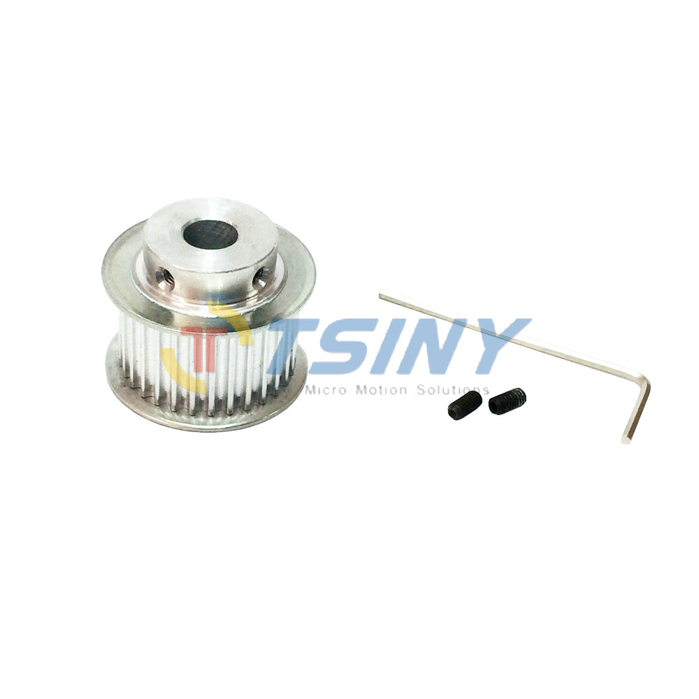 3d Printer Accessories Pulley Wheel 3m Timing Belt Aluminium Pulleys Aluminum Stock 26 Tooth Bore 6mm 8mm Fit For Width 16mm In From Home Improvement