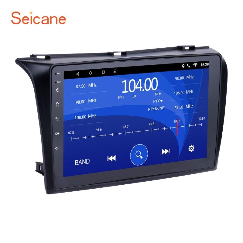 Seicane 1024*600 Multi-Système tactile Android 6.0 Bluetooth GPS De Voiture Radio pour 2004-2009 Mazda 3 soutien OBD2 3g WiFi 1080 p DVR