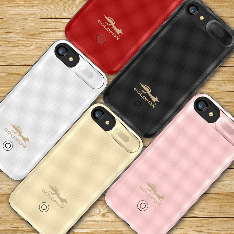 5500mAh Ultra Thin Extra Backup Case For iPhone 6 6S 7 8 4.7inch Power Bank Cover Battery Charger Case Battery Charge Cover