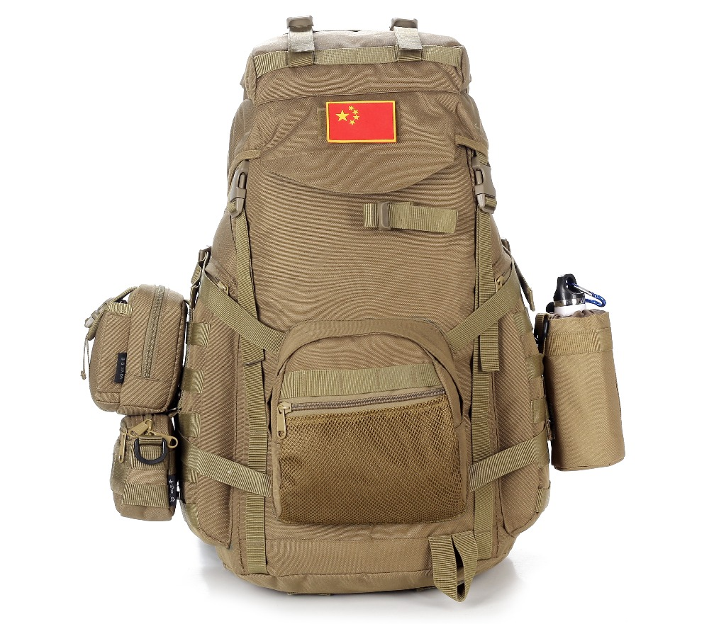60L Large Multi-purpose Outdoor Tactical Camping Backpack Nylon 900D Hiking Climbing Travel Rucksack mountaineering Sports Bag 60l nylon 900d outdoor sports army fans tactical backpack camping cycling hiking climbing rucksack military hunting sports bag