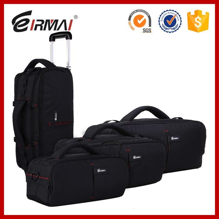 Foto Heißer Verkauf nylon dslr Kamera Video Taschen TROLLEY rucksack Hohe kapazität Kamera VCR tasche