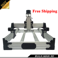 Free Shipping OX CNC Mechanical Kit CNC Router Machine Desktop DIY Machinery OX CNC with 4pcs Nema23 Stepper Motors
