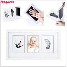 Taoqueen нетоксичный новорожденный отпечаток руки Inkpad водяной знак Детские сувениры литье глиняные игрушки подарок ребенок отпечаток ноги