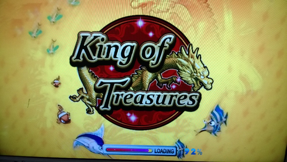 King of treasures fishing game machine arcade console 8 for Fish on main