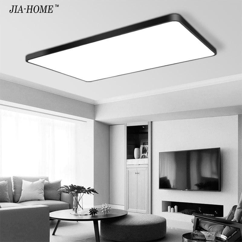 White Black Led Ceiling Lights Ultra Thin Indoor Lighting