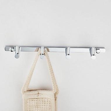 Bathroom wall robe hooks brass chrome coat hanger door hooks for bathroom accessories-in Robe Hooks from Home Improvement on Aliexpress.com | Alibaba Group