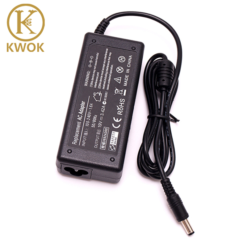19V 3.42A 5.5 X 2.5mm 65W N101 AC Laptop Adapter Charger For Acer/Toshiba/Asus/Lenovo SADP-65KB A43E CX200 Power Supply de li bao 19v 4 74a 5 5 x 2 5mm laptop ac adapter for asus lenovo toshiba hp black 100 240v