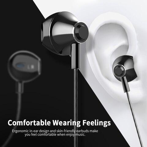 2019 Langsdom Digital Type C Earphone with Mic Hifi Bass Headset for Samsung in ear Headphones for Auriculare Xiaomi USB C Phone Karachi