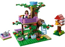 10158 BELA Girls Friends Olivia Tree House Building Blocks 191pcs/set Assemble Bricks toys Compatible Legoe friends