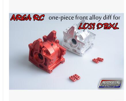 Area RC front rear transmission velox gear box for LOSI DBXL free shipping