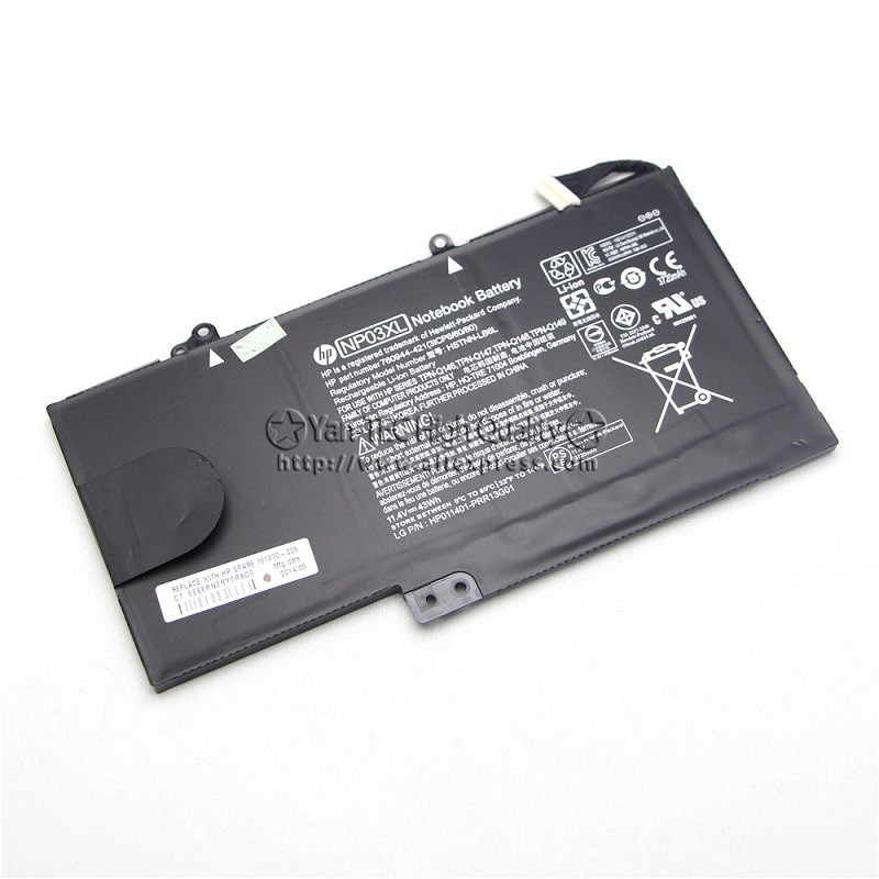 11.4V 43Wh Original Battery For HP pavilion x360 13-A010DX HSTNN-LB6L 760944-421 TPN-Q146 TPN-Q147 TPN-Q148 NP03XL Free shipping 15 2v 58wh rr04 notebook battery for hp omen 15 15 5014tx tpn w111 778951 421 4icp6 60 80 hstnn lb6n