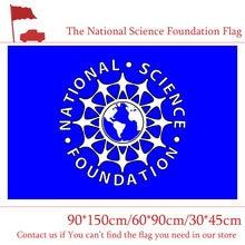 A bandeira nacional americana da fundação da ciência 90*150cm 60*90cm 3 * 5ft poliéster voando 30*45cm bandeira do carro para a decoração de casa