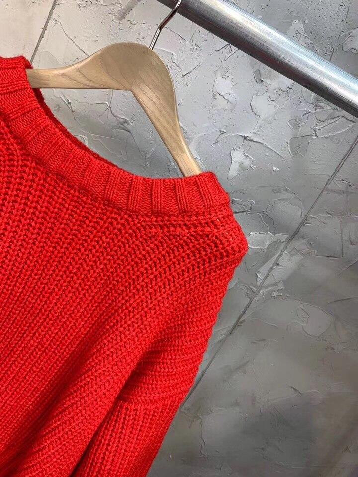 Ddxgz3 2018 Femmes Mode 29 Manches Lanterne 11 Nouveau Chandail xtwYrqH1t
