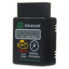 Mini ELM327 V2.1 Bluetooth HH OBD ELM 327 Advanced OBDII OBD2 Car Diagnostic Tool Scanner Code Reader Scan for Android