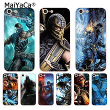 MaiYaCa Scorpion Sub Zero Mortal Kombat soft tpu phone case cover for Apple iPhone 8 7 6 6S Plus X 5 5S SE 5C 4 4S Cases(China)