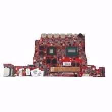 SHELI для hp OMEN 15 материнская плата для ноутбука с процессором I7-4720HQ 812014-001 14212-2 16 Гб ОЗУ DDR3 тест Oke