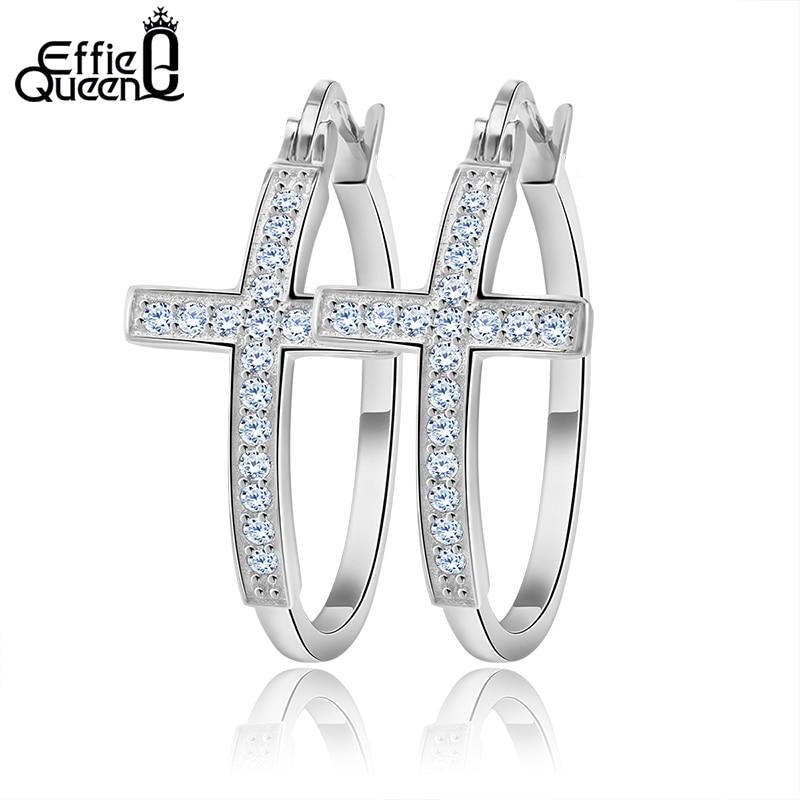 Effie Queen Hot Πώληση Μεγάλα Hoop Σκουλαρίκια - Κοσμήματα μόδας - Φωτογραφία 6