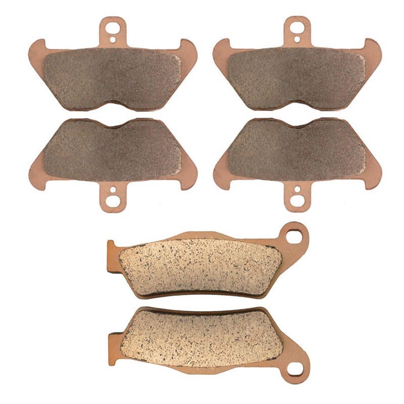 Motorcycle Parts Copper Based Sintered Motor Front Rear Brake Pads For BMW R1100RT R 1100RT 1100