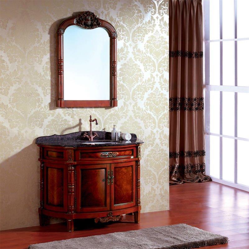 €1490.28  Belle salle de bain vanité armoire salle de bain vanité salle de  bain miroir armoire on AliExpress