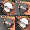 4pcs/lot 56mm 2.20inch car emblem wheel hub badge sticker label For SSR logo Use For Chevy chevrolet accessories Covers label