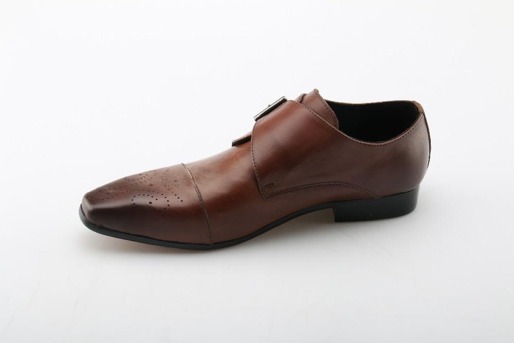 Chaussures à bout carré noires Casual homme r0uNSoRW