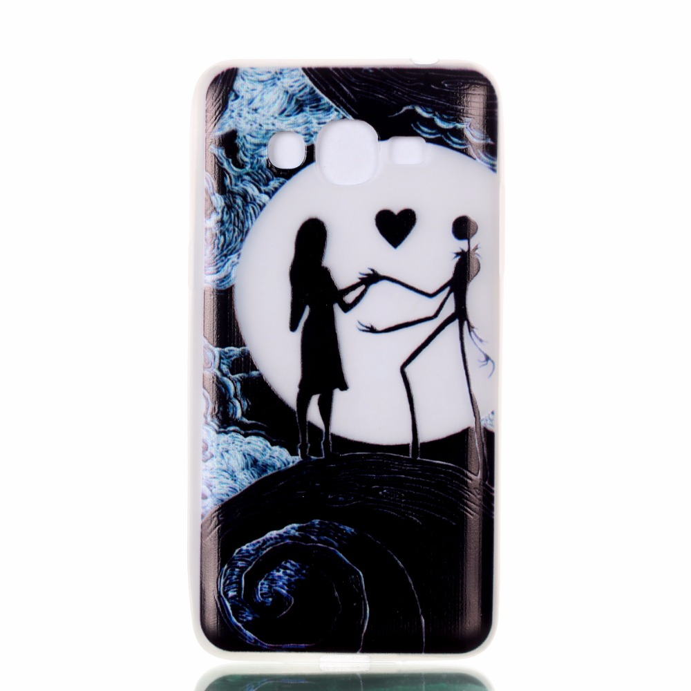 Hot Sale Luminous Cartoon silicone Soft TPU Phone Protector Case For Samsung Galaxy J2 Prime Back Cover Cases Coque in stock