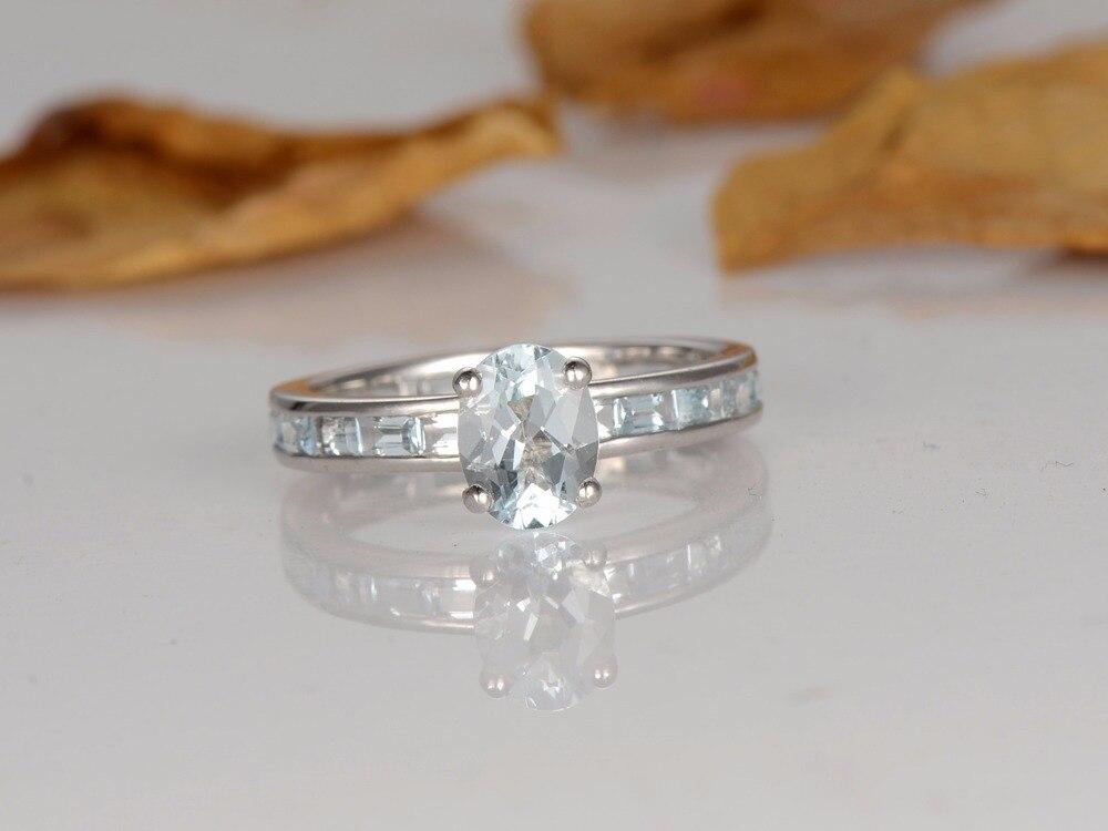 Estremamente Anello Diamanti Baguette: Blue glow vogue.it. Argenti gioielli ed  TK82