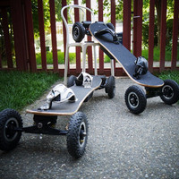 Dual powerful motor New electric skate board with remote controlling