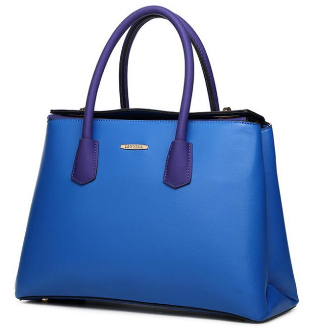 ФОТО Panelled women handbag new style women messenger bags portable women bag hot shoulder bag fashion crossbody bag vintage tote