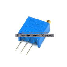 10Pcs/lot 3296W-1-105LF 3296W 105 1M ohm Top regulation Multiturn Trimmer Potentiometer High Precision Variable Resistor