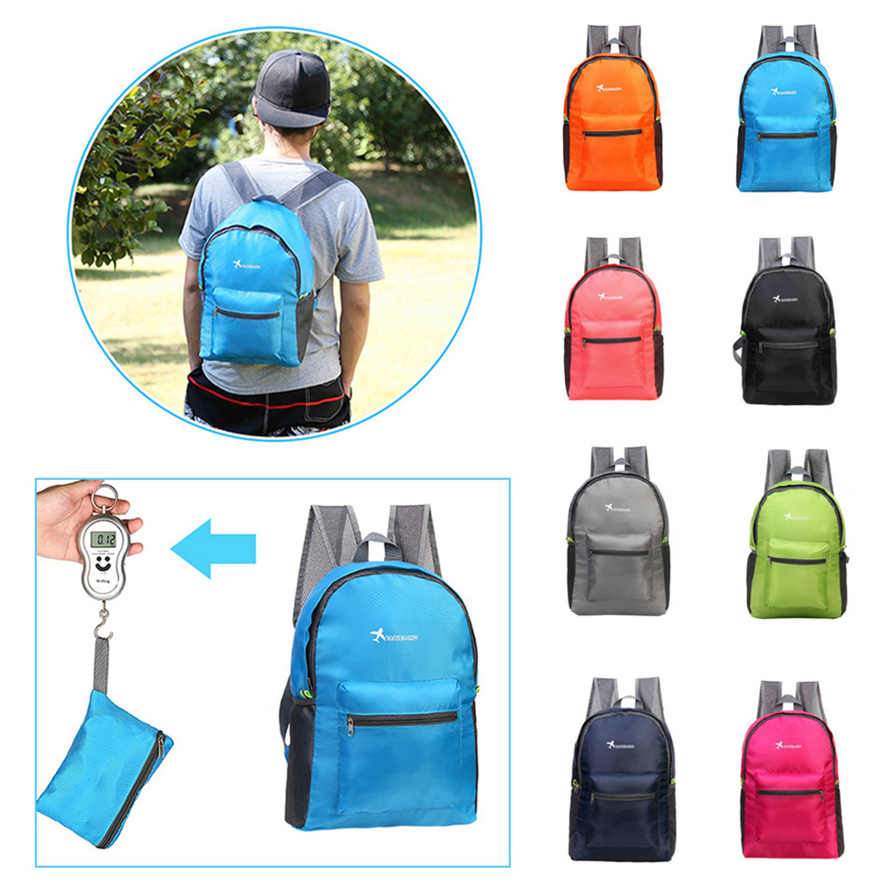 18l Foldable Ultralight Fitness Sport Gym Bags Waterproof Cycling Backpack Men Women Outdoor Camping Hiking Travel Climbing Bags Up-To-Date Styling