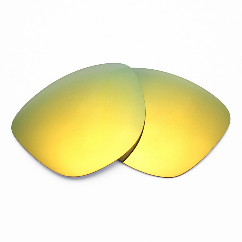 d0910facb6 2 Pairs Mryok Anti Scratch POLARIZED Replacement Lenses for Oakley Frogskins  Sunglasses 24K Gold   Fire Red-in Accessories from Apparel Accessories on  ...