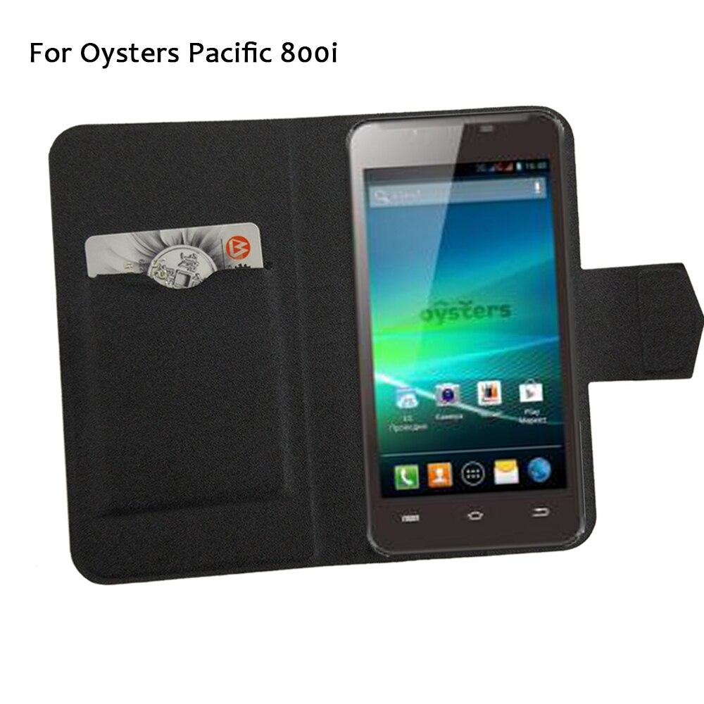 5 couleurs Super! Huîtres Pacific 800i coque de téléphone en cuir couverture, 2017 usine Direct mode luxe complet Flip Stand coques de téléphone
