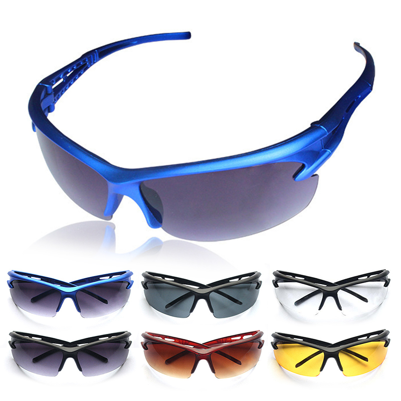 2018 Hot 1 Pieces Cycling Glass Outdoor Sport Riding Running Sports UV Protective Goggles Sunglasses Hign Quality!