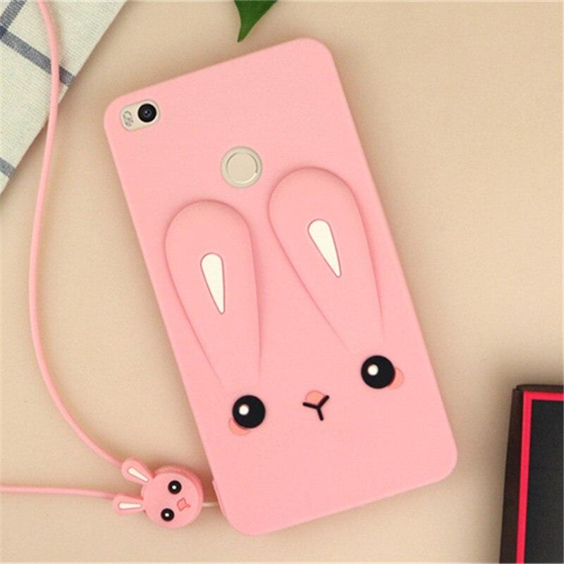 Para xiaomi redmi 3 s caso bonito cor orelhas de coelho macio caso de silicone para xiaomi redmi 3 s caso de telefone redmi 3 pro coque fundas capa
