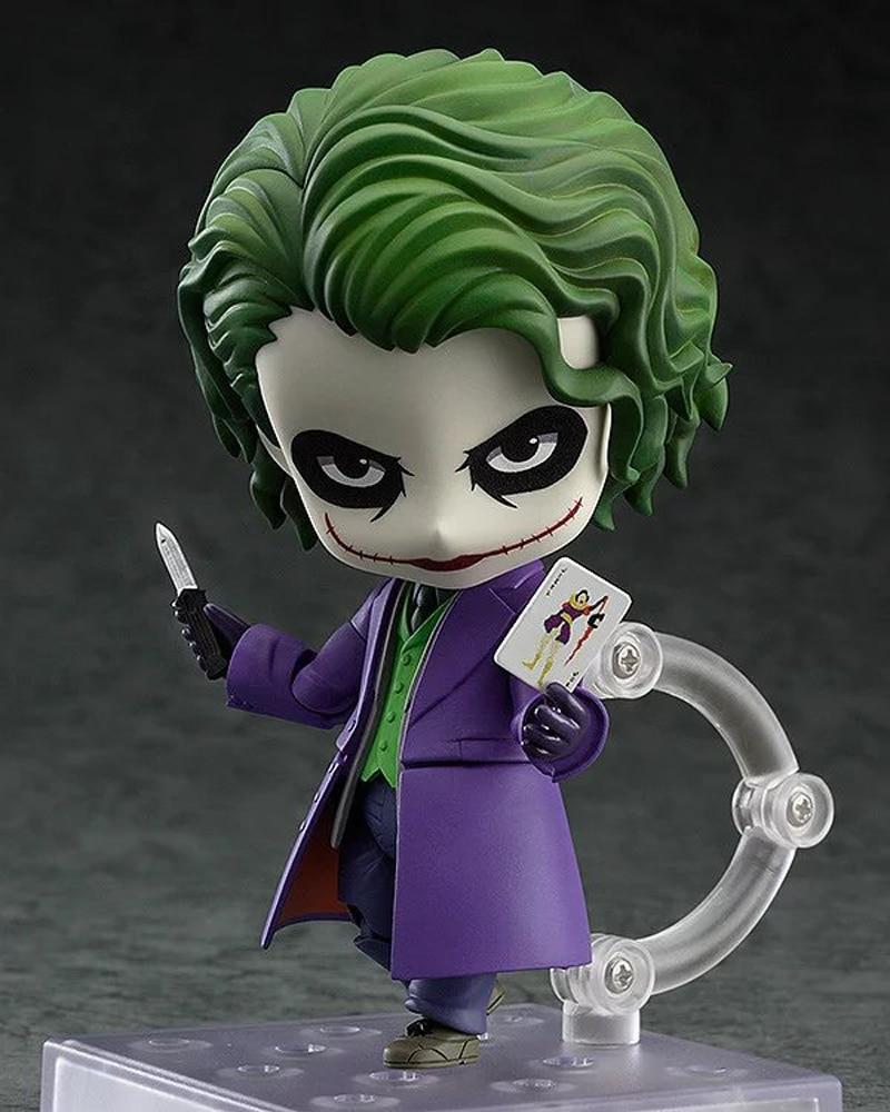 Marvel Anime Figure Nendoroid Batman Arkham Asylum Joker Doll PVC Action Figure Collectible Model Toy 10cm 4  funko pop marvel batman 84 pvc action figure collectible model toy 12cm kt2370