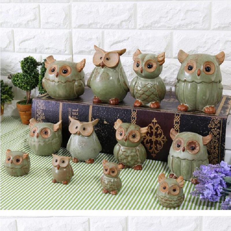 Buy Doll Furnishing Articles Resin Crafts Home Decoration: Online Buy Wholesale Owl Ornaments Gifts From China Owl