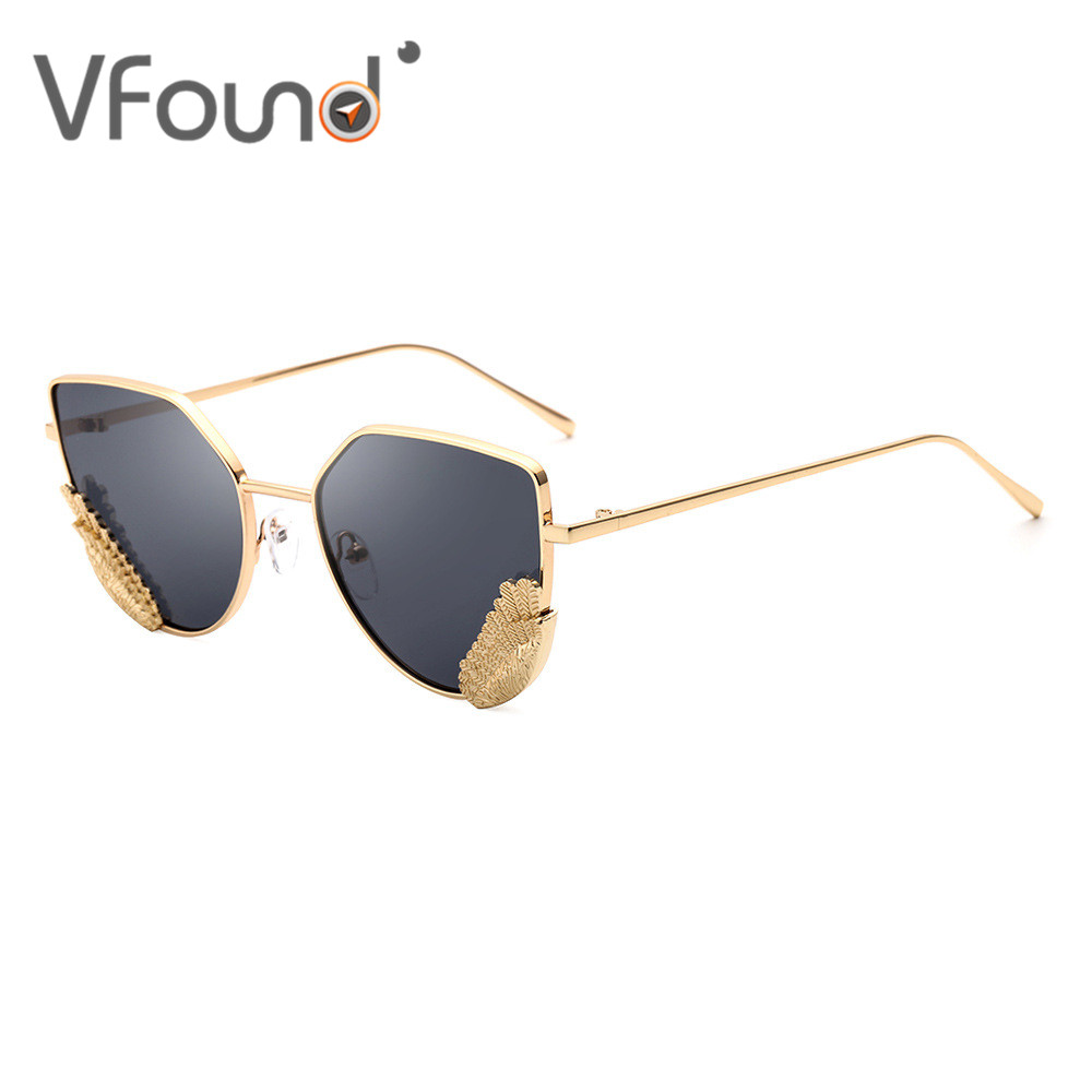 Vfound Designer Feather Light Sunglasses Sun Glasses For
