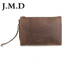 J M D New Arrival 100 Leather font b Wallet b font Most Popular Multi Functional