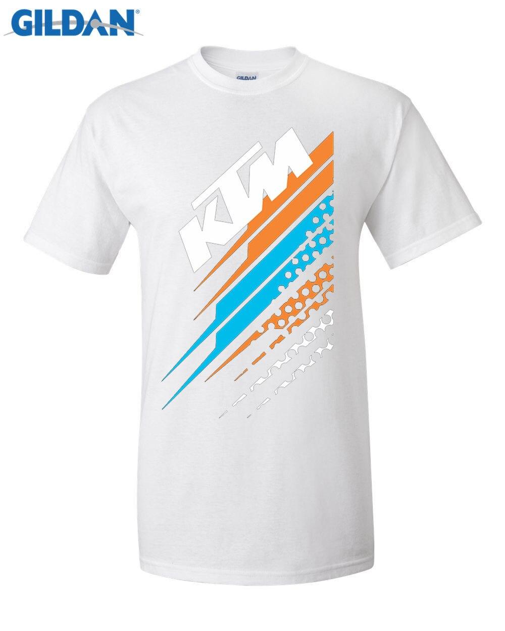Design t shirt gildan - Gildan Designer T Shirt Men S O Neck Short Funny T Shirt Shirt Crazy Ktm Team Tee Shirt Printing Short Sleeve Casual T Shirt