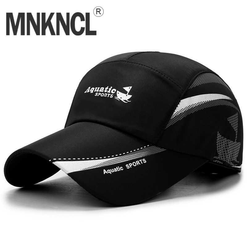 89a5824e MNKNCL Men Women 2019 Quick-Drying Baseball Cap Summer Sun Hat Outdoor UV  Protection Hats