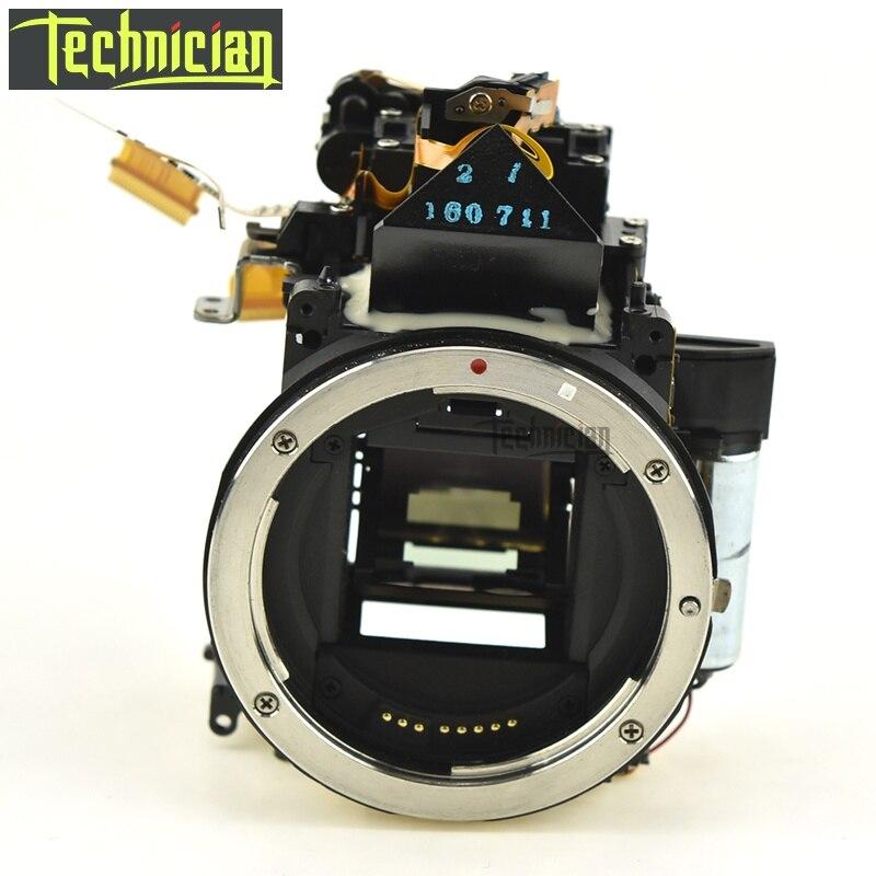 Boîte de corps principal de boîte de miroir de 60D avec l'unité de viseur aucune pièces de rechange d'appareil-photo d'obturation pour le Canon