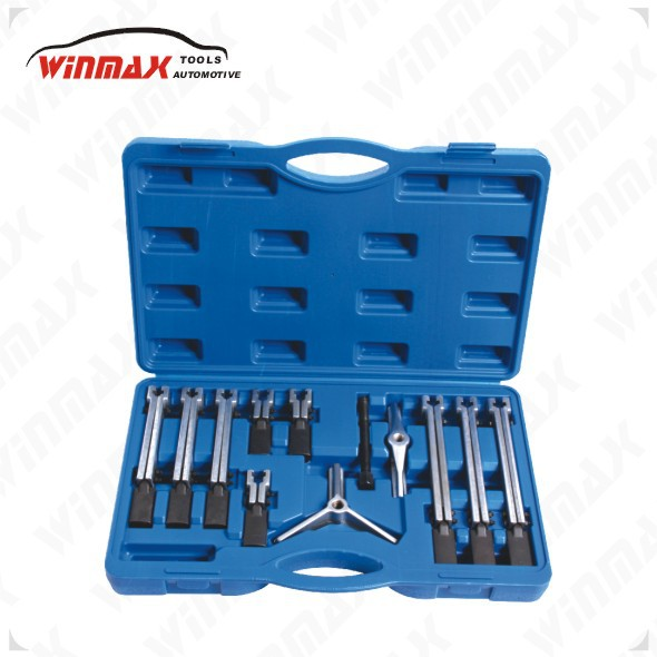 WINMAX 12PCS Repair Tools Universal Puller Set Automotive Arms Pulley Remover WT04J1015