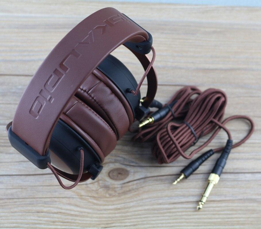 ISK MDH8500 véritable casque HIFI stéréo entièrement clos dynamique écouteur professionnel Studio casques Hifi DJ casque - 6