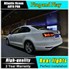 Car Styling For VW Jetta LED Taillights 2012 2014 For Jetta Tail Lamp Rear Lamp Fog