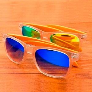 Бобо птица CG008 бренд Дизайн унисекс модные Солнцезащитные очки для женщин прозрачный Пластик и бамбука Рамка красочный поляризованные линзы Защита от солнца Очки