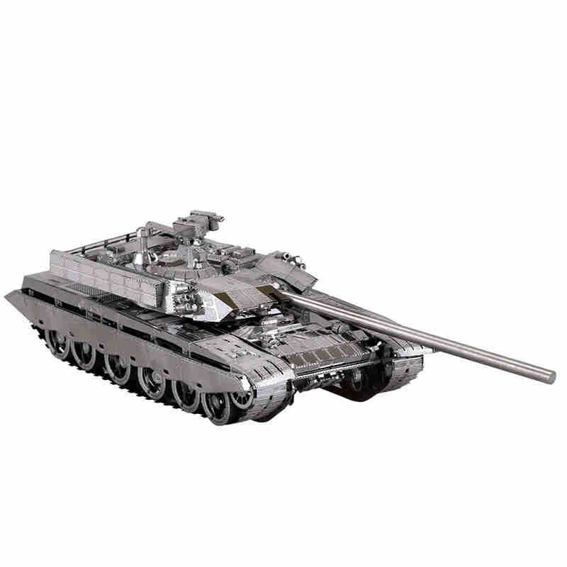 MU 3D Metal Nano Puzzle China T99 Tank font b Building b font font b Model