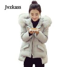 Jvzkass 2018 autumn and winter new cotton short female collar a word cloak down padded jacket Z77